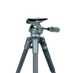 VEO 2 PRO 233CO CARBON TRIPOD WITH 2 WAY PAN HEAD - RATED AT 6.6LBS/3KG