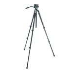 VEO 2 PRO 263AV ALUMINUM TRIPOD WITH 2-WAY VIDEO PAN HEAD - RATED AT 11LBS/5KG