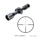 Endeavor RS VII 1-7x44 Rifle Scope with Illuminated German 4 Reticle