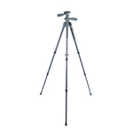 VEO 2 PRO 203CPV CARBON TRIPOD WITH 3-WAY PAN HEAD - RATED AT 6.6LBS/3KG