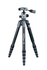 VEO 2X 265CBP Carbon Travel Tripod - Rated at 26.5lbs
