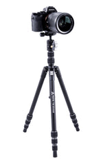 Vesta TB 204AB Aluminum Tripod with T-46 Ball Head