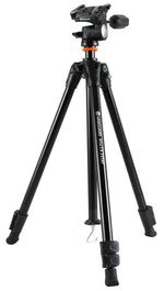 ALTA CA 233AO Aluminum Tripod with 3-Way Pan Head - Rated at 13lbs/6kg