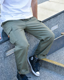 Mycrocosmos Ripstop Cargo Pants Military Green
