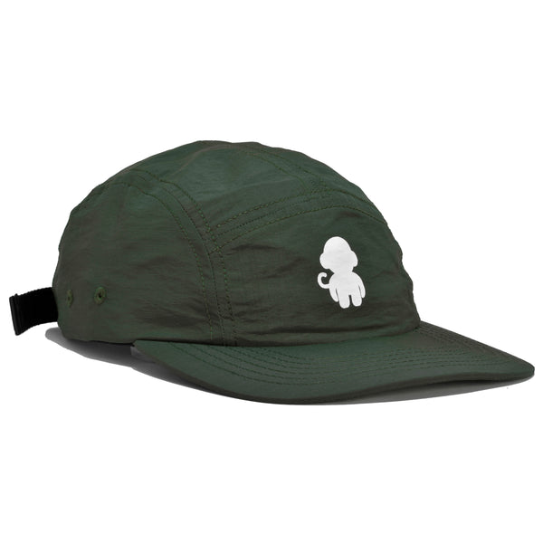 MONKEY LOGO 5 PANEL HAT MILITARY GREEN