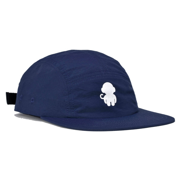 Monkey Logo 5 Panel Hat Navy