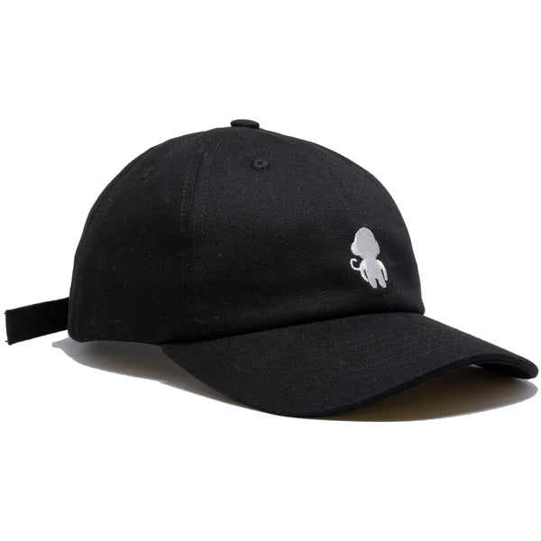 MONKEY LOGO DAD HAT BLACK