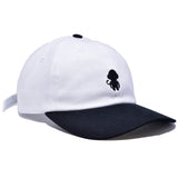 MONKEY LOGO DAD HAT WHITE/BLACK