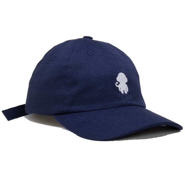 MONKEY LOGO DAD HAT NAVY