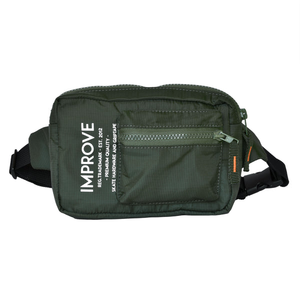 Label Hip Bag Military Green