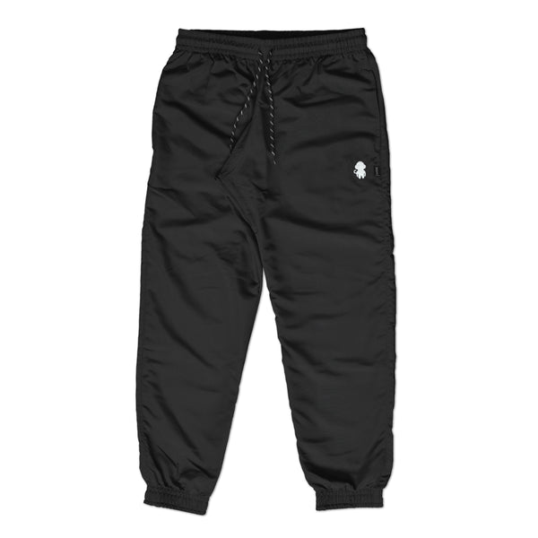 MONKEY LOGO TRACK PANTS BLACK
