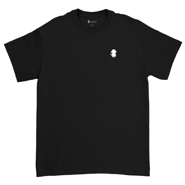 Monkey Logo T-shirt Black