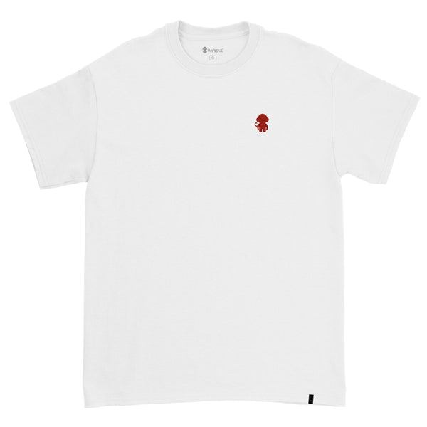 Monkey Logo T-shirt White