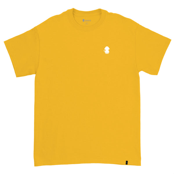 Monkey Logo T-shirt Yellow