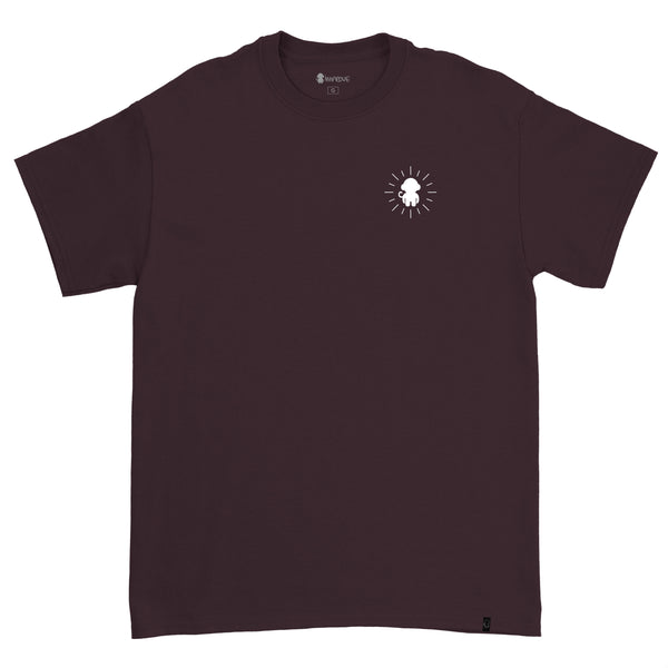 Loading T-shirt Burgundy