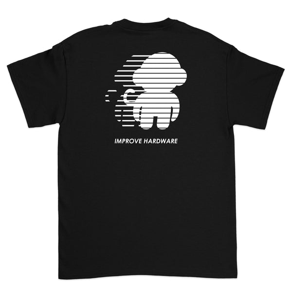 SUPERSONIC T-SHIRT BLACK