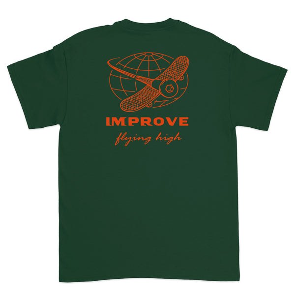 Flying High T-shirt Green
