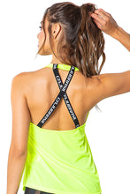 Load image into Gallery viewer, Tank Top True Love Neon Green - Caju Brasil