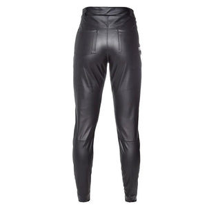 Pants Star Leather Black