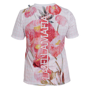 T-Shirt Neutral Flowers - Labellamafia