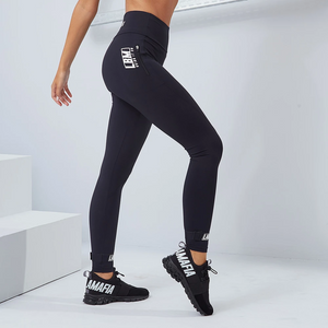 Leggings Bring It On Essentials Black - Labellamafia