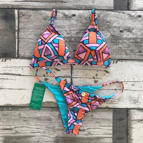 Bikini Set Nina Fixed - WaveFit Activewear