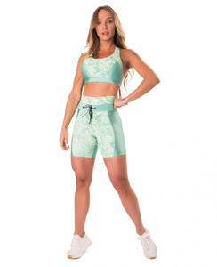 Short Fierce Green - Let's Gym