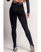 Load image into Gallery viewer, Legging Dream Fitness Black with Elastic and Zipper