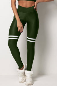 Legging Tfin Fitness Green with Pockets - WaveFit Activewear