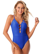 Load image into Gallery viewer, Swimsuit Bianch Azul Valentine - Vestem