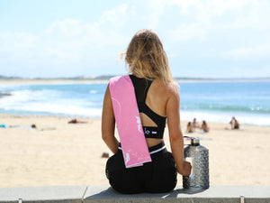 REAL ACTIVE 'BE CALM' WORKOUT TOWEL