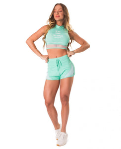 Short New Trip Fierce Green - Let's Gym