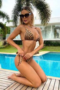 Bikini Animal Print Double Sided Curtain Mermaid Brazil