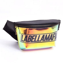 Load image into Gallery viewer, Holographic money belt - Labellamafia