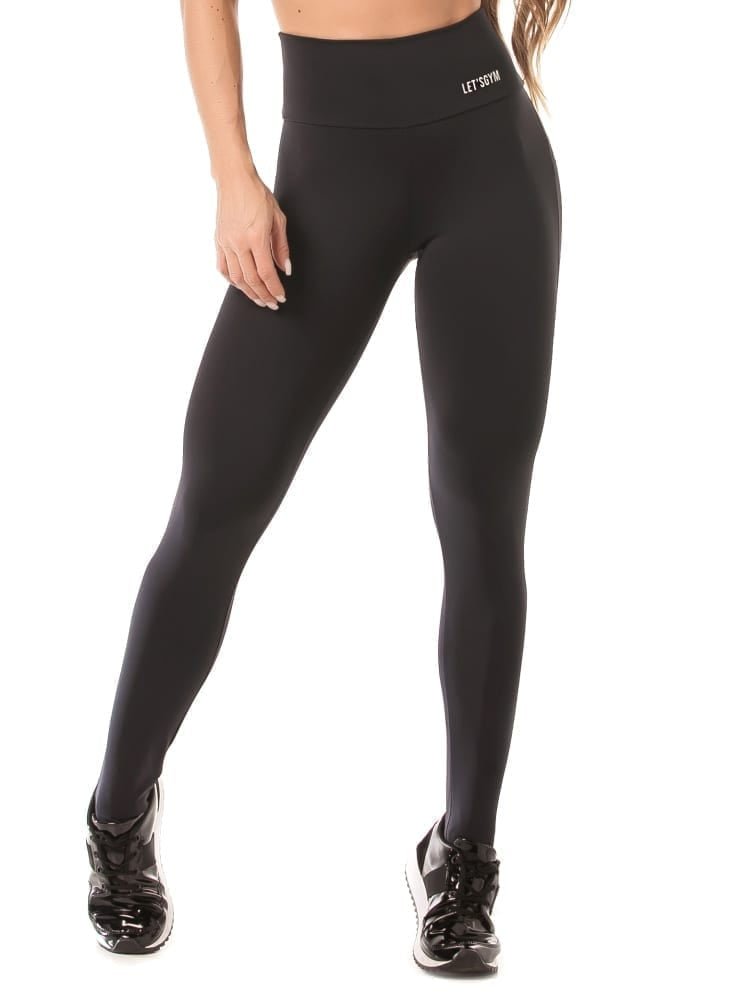 Legging Push Up Black - Let's Gym