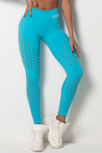 Legging Tfin Fitness Seamless Blue - WaveFit Activewear