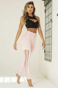 Legging Edn Fitness Seamless Pink - WaveFit Activewear
