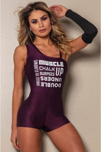 Load image into Gallery viewer, Jumpsuit 2020 Fitness Purple - WaveFit Activewear
