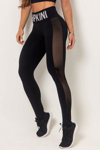 Leggings CFD Fitness Seamless Black - WaveFit Activewear
