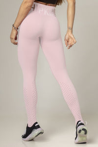 Legging Party Fitness Seamless Light Pink