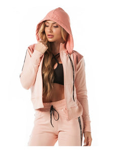Jacket Let's Gym Up Rose