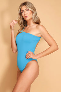 Swimsuit Candy Blue - WaveFit Activewear