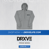 DRXVE CHAMP PACK - Packable Wind Hoodie (Navy or Grey)