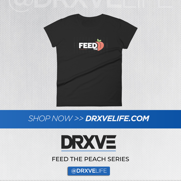 FEED THE PEACH POP- DRXVE Women's short sleeve t-shirt