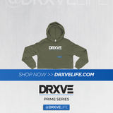 DRXVE PRIME - STEALTH CROP Hoodie (Multiple Colors Available)
