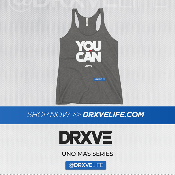 YOU CAN - DRXVE Women's Racerback Tank