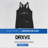 FEED THE PEACH Minimal- DRXVE Women's Racerback Tank