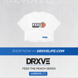 FEED THE PEACH POP - DRXVE Women's Crop Top