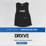FEED THE PEACH Pop - DRXVE Women's Muscle Tank