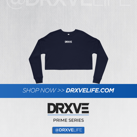 DRXVE PRIME MINIMAL - Crop Sweatshirt (Multiple Colors Available)